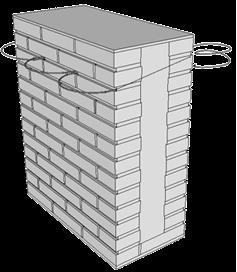 Cucire la pietra con la pietra il sistema ticorapsimo for Piccola casa costruita su fondamenta